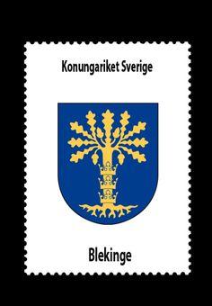 Konungariket Sverige • Blekinge län