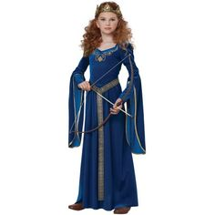 Forest Princess Child Costume | Become a Merida look-alike for Halloween! #officialprincesscostumes | Renaissance and Medieval Costumes | Pinterest | Merida ...  sc 1 st  Pinterest & Forest Princess Child Costume | Become a Merida look-alike for ...