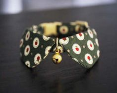 The Basic Style for cat collar tiny dog collar small by HMbyZoey Baby Dogs, Pet Dogs, Dog Cat, Pets, Dog Anatomy, Dog Clothes Patterns, Pet Fashion, Dog Items, Cat Accessories