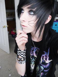 #Goth #Emo #Scene Cat Girl