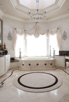 Hawks Landing - traditional - bathroom - miami - Complete Home Improvement Group Inc. Beautiful Bathrooms, House Design, Luxury Bathtub, Elegant Bathroom, Gorgeous Bathroom, Gothic Bathroom, Home, Window Design, Dream Bathrooms
