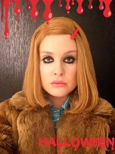 "18 Stars Who Picked the Perfect Pop Culture Halloween Costumes | KELLY OSBOURNE | ""I hope I did you justice, Gwyneth Paltrow!"" Osbourne captioned her Halloween Instagram snapshot of the homage to The Royal Tenenbaums' Margot."