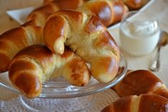 Croissant Dough, Croissant Recipe, Sweet And Salty, Love Is Sweet, Light Desserts, Cake & Co, Cake Cookies, Wine Recipes, Italian Recipes