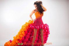 Balloon Dress Model - Kim Williams, Photographer - David Lee Kelley