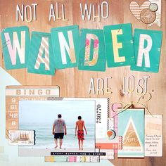 Not All Who Wander Are Lost by MadelineFox at @studio_calico