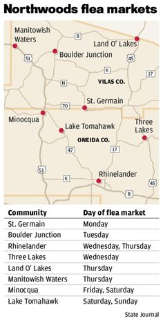 On Wisconsin: Up North flea markets are a big draw : Wsj