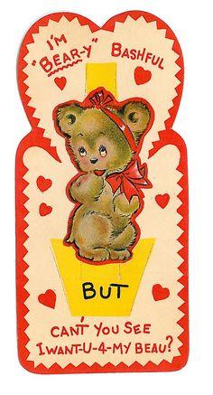Bear Vintage Valentine   by shelbyfoster17