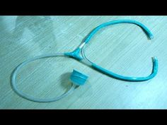 How to make stethoscope at home - YouTube