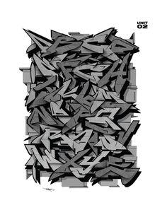 Graffiti Lettering Alphabet, Calligraphy Fonts Alphabet, Graffiti Writing, Tattoo Lettering Fonts, Caligraphy, Graffiti Pens, Graffiti Tagging, Graffiti Artists, 3d Street Art