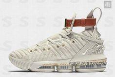 "f3807dbb4bdd Discount Nike LeBron 16 ""HFR"" Sail White Light Bone BQ6583-100"