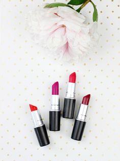 The MAC Summer Lipstick Lineup | Laurzrah http://www.laurzrah.com/2017/06/the-mac-summer-lipstick-lineup.html?utm_source=bloglovin.com&utm_medium=feed&utm_campaign=Feed:+Laurzrah+(Laurzrah)