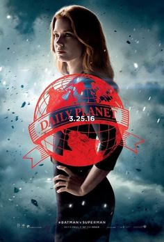 Alfred, Lex Luthor and Lois Lane get their own Batman V Superman posters - Movie News | JoBlo.com