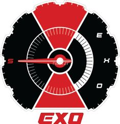 EXO Don't Mess Up My Tempo logo Exo Stickers, Tumblr Stickers, Phone Stickers, Printable Stickers, J Pop, Park Chanyeol, Sehun, Bullet Journal, Mess Up
