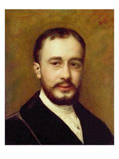 Portrait of Henri Toulouse Lautrec