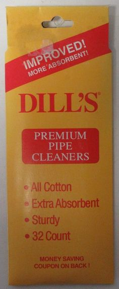 Dill's Daily Tobacco Pipe Cleaner NOS