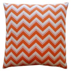 Jiti 'Alberta' Orange 20-inch Pillow | Overstock.com Shopping - The Best Deals on Accent Pieces
