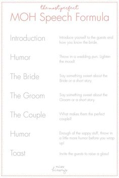 34 Most Beautiful Wedding Speech Quotes, Wedding ceremonies have as much activity going on that many situations the significance of wedding messages isn't realized. You are ideal for one anot. Wedding Puns, Wedding Speech Quotes, Best Man Wedding Speeches, Wedding Messages, Wedding Toasts, Wedding Ideas, Best Friend Wedding Speech, Wedding Stuff, Wedding Toast Speech