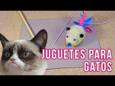 Cómo hacer Juguetes Para Gatos Jelicales DIY   Ft Khaleesi - YouTube