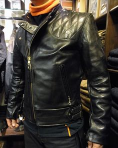 Vanson Leathers Chopper Leather Jacket From Insurrection / Thurston Bros. Rough Wear, Seattle