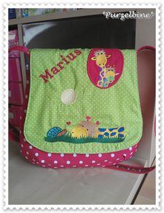 Purzelbine: Giraffen-Kindergarten-Tasche