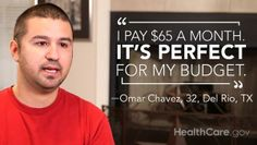 I Stopped Gambling With My Life: My #GetCovered Story  (By Omar Chavez): http://www.hhs.gov/healthcare/facts/blog/2014/03/omars-enrollment-story.html
