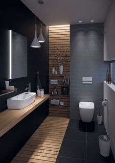 35 The Best Modern Bathroom Interior Design Ideas - Homeflish Bathroom Design Luxury, Bathroom Layout, Modern Bathroom Design, Bathroom Ideas, Budget Bathroom, Bathroom Designs, Bathroom Inspo, Bathroom Organization, Bathroom Storage