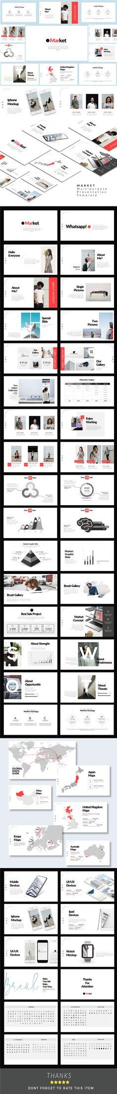 Market - Google Slide Presentation Template