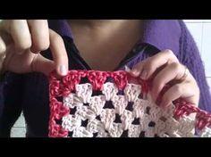 Jogo de cozinha passadeiras em crochê rosavermelha - YouTube