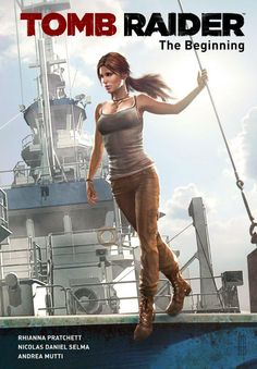 First Look: TOMB RAIDER Preorder Comic from Dark Horse - Comic Vine