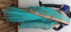 Pure chiffon Saree Embellishment  Code  2627 INR 4150/-