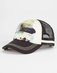 4ab74f250c6 ROXY Dig This Womens Trucker Hat - BLACK - ERJHA03037