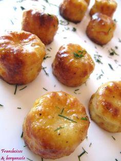 Framboises & bergamote: Cannelés au saumon fumé et à l'aneth