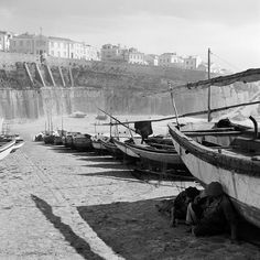 30 Interesting Black and White Photographs That Capture the Fishing Life in Portugal from the 1950s ~ vintage everyday