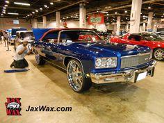 Ron Storey's 1975 Chevy Caprice Convertible http://www.jaxwax.com
