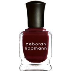 Deborah Lippmann Exclusive Nail Lacquer ($25) ❤ liked on Polyvore featuring beauty products, nail care, nail polish, deborah lippmann nail lacquer, deborah lippmann nail color, deborah lippmann nail polish and deborah lippmann