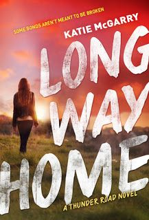 Long Way Home    Long Way Home  by Katie McGarry  Book: Thunder Road #3  Publisher: Harlequin Teen  Pub Date: January 31 2017  Genre: Young Adult  Format: ARC  Source: Publisher  Book Links: GoodreadsAmazonBook Depository  Seventeen-year-old Violet has always been expected to sit back and let the boys do all the saving.  Its the code her father a member of the Reign of Terror motorcycle club raised her to live by. Yet when her dad is killed carrying out Terror business Violet knows its up to…