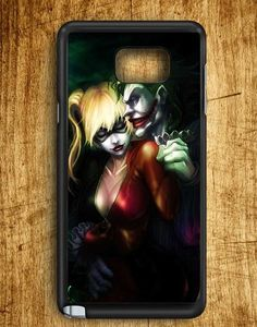 Joker And Harley Quinn Samsung Galaxy Note Edge Case