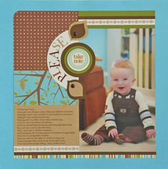 free scrapbook layouts for new baby | Baby scrapbook pages / Baby boy scrapbook pages Bienvenido a Farmacia ...