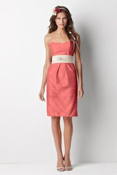 i like these dresses, a lot- who doesn't look good in coral!
