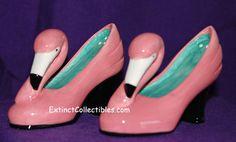 Pink Flamingo Pump Shoes Shaker Set by Vandor