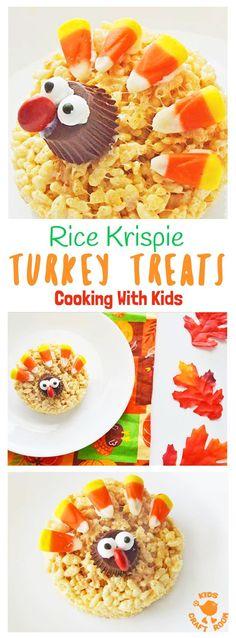 rice krispie turkey treats