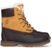 Bruine Timberland kinderschoenen Asphalt Trail EK WPD boots