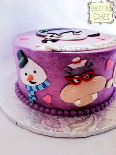 doc mcstuffins cake | Doc McStuffins Birthday Cake — Children's Birthday Cakes