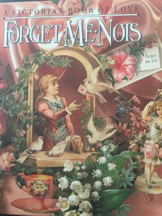 A Victorian Book Of Love Forget Me Knots Victoria Magazine
