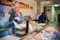 """Hanging with Cesenatico's Fishmongers"" by @lolaakinmade"