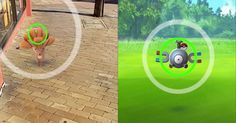 Pokemon GO will also test your aiming skills