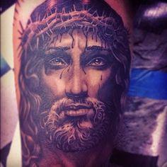 Steve Soto Religious Tattoos