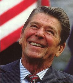 Ronald Reagan - 40th President of the United States. In office  January 20, 1981 – January 20, 1989
