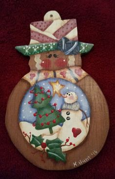 Gingerbread Girl by KeepsakesbyKara on Etsy
