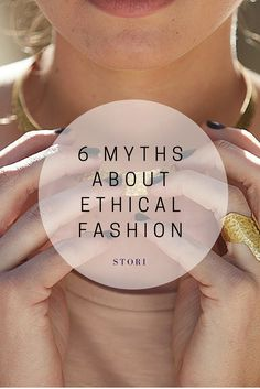 I pinned this pin as it addresses common misconceptions people make about the ethical fashion industry. (Apparel Merchandising)